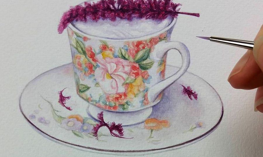 heidi willis_watercolor illustration_drink