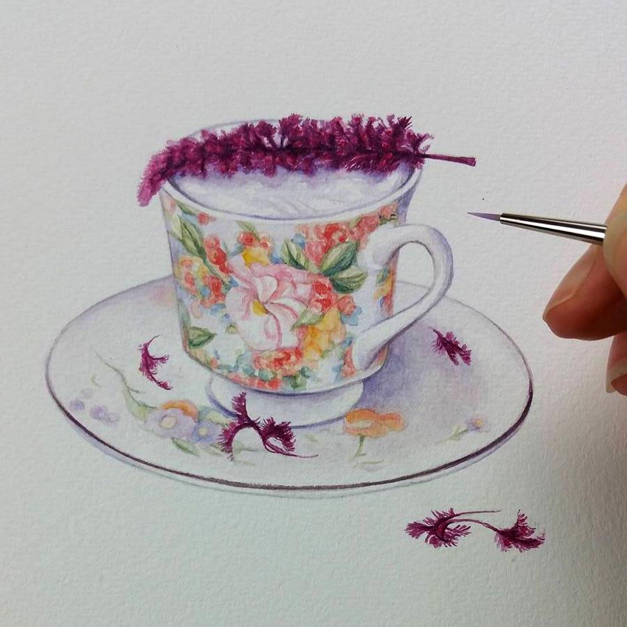 heidi willis_watercolor illustration_drink